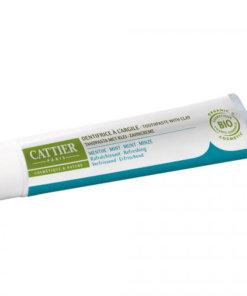 cattier dentifrice bio menthe