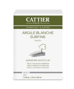 Argile blanche surfine bio Cattier Maroc