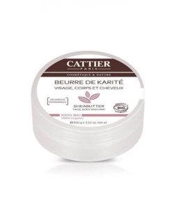 Beurre de karité bio Cattier Maroc