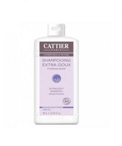 Shampooing extra doux quotidien 1L bio Cattier Maroc