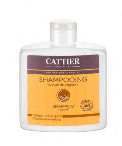 Shampooing soluté de yaourt bio Cattier Maroc