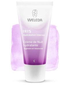 Crème de nuit hydratante iris Weleda Maroc