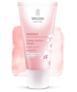 Crème confort absolu amande Weleda Maroc