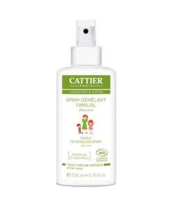 Spray démêlant familial aloe vera bio cattier Maroc