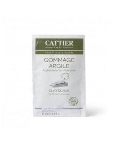 Gommage argile blanche unidose bio Cattier Maroc