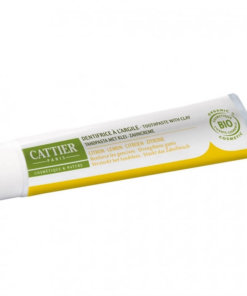 cattier dentifrice citron bio