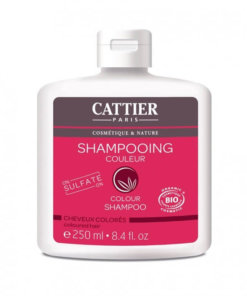 cattier shampoing couleur cheveux colorés