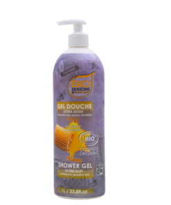 bioseasons gel douche miel bio
