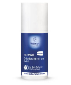 weleda déodorant roll on homme bio