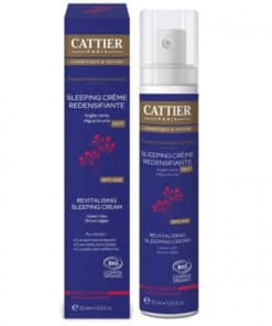 cattier sleeping creme redensifiante - parenthese bucolique bio