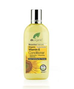 Dr.organic après shampoing vitamine E bio