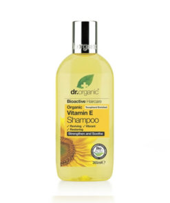 Dr.organic shampoing vitamine E bio