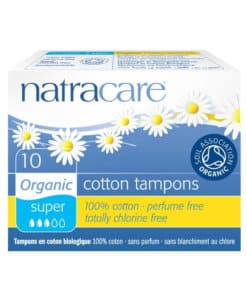 NATRACARE - tampons Super sans applicateurs x10