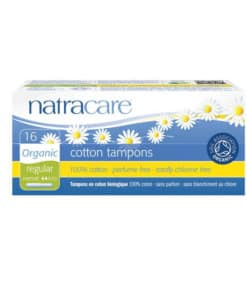 NATRACARE - tampons normal avec applicateurs x16