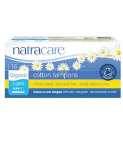NATRACARE - tampons super avec applicateurs x16