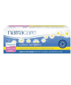 NATRACARE - tampons super plus sans applicateurs x20