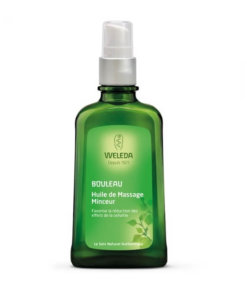 weleda huile massage minceur bouleau