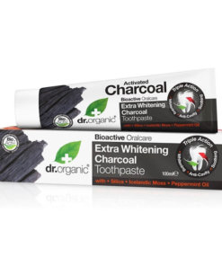 Dentifrice charbon actif - Dr Organic