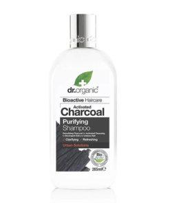 Shampoing au charbon actif - Dr Organic