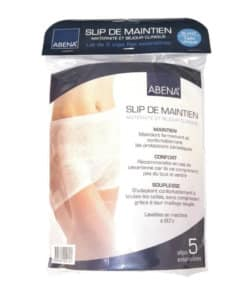 Lot de 5 slips de maintien Abena